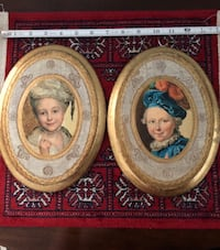 Florentine Portrait pair Fairfax, 22032
