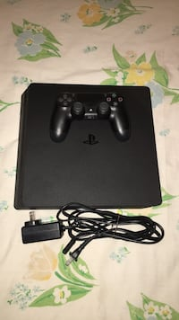 black Sony PS4 Slim with controller Portland, 97202