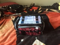 Tackle bag with tackle boxes  Jacksonville, 75766