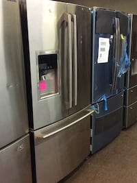 stainless steel french door refrigerator 43 km