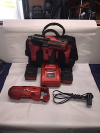 """Snap-On CT8850 1/2"""" Impact Wrench - 18v w/ Charger and & 2 Batteries Bloomfield, 07003"""