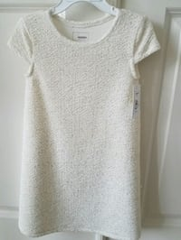 New with tags girls cream and gold holiday dress 29 km
