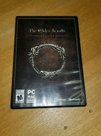 The Elder Scrolls V Skyrim Xbox 360 game case Toronto