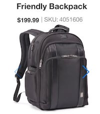 Executive Choice 2 Checkpoint Friendly Backpack. Brand New. Toronto, M5X 1A9