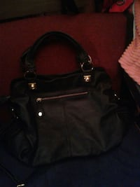 black leather 2-way handbag London, N6A 1P1
