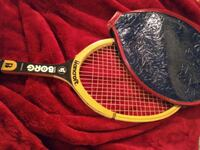 Vintage Bjorn Borg Hand Crafted Personal Tennis Racquet