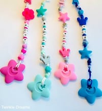 Stars baby teether and pacifier clip Richmond, V6Y 1P3