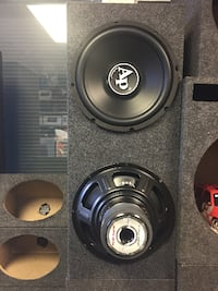 Brand new 12's audiopipe and sealed box Tallahassee