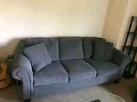 gray fabric 3-seat sofa East Aurora, 14052