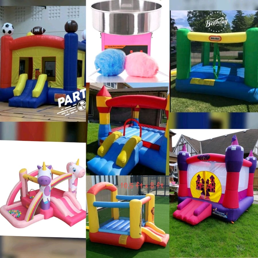 Add a Jumping Castle Rental to your party