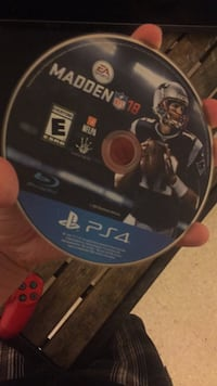 Sony PS4 Madden NFL 18 game disc Bakersfield, 93307