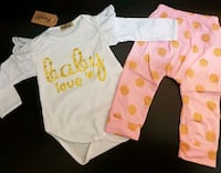 """Baby Love"" Outfit (0-3 Months); Brand New  Bradford West Gwillimbury, L3Z 2A5"
