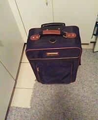 almost new suitcase