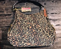 Betsy Johnson Purse - Leopard print handbag $25
