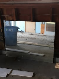 30x40 rectangular frameless mirror Lewiston, 04240