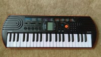 black and red electric keyboard Olney