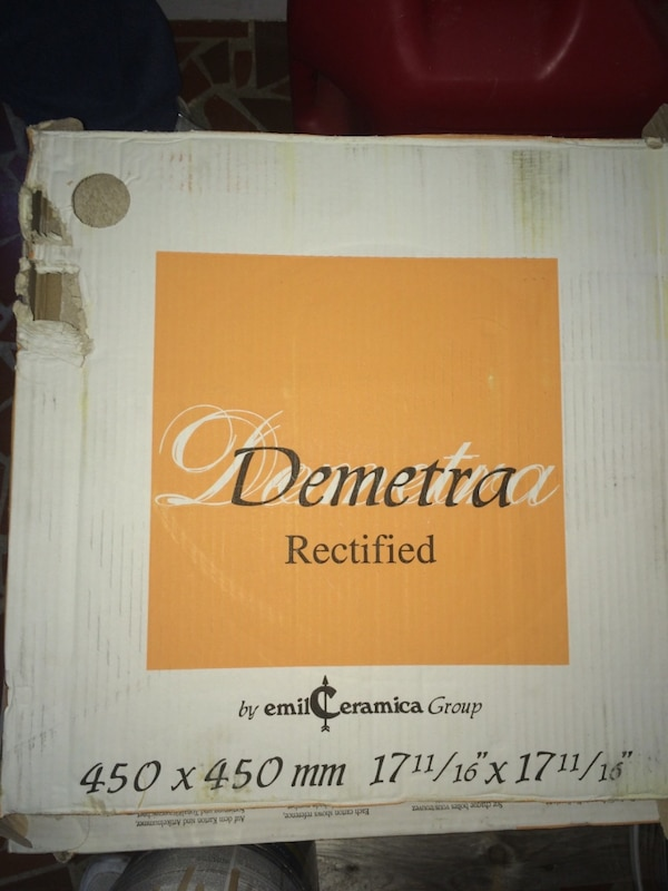 Used Demetra Rectified By Emil Ceramica Group For Sale In Diberville - Demetra ceramic tile
