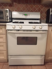 GAS STOVE - Maytag with range Caledon