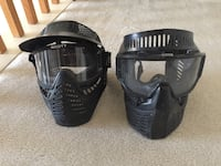 Paintball mask- 2 for 1 deal  64 km