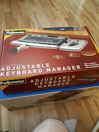 Fellowes adjustable keyboard manager Moncton, E1G 5P4
