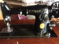 Vintage 1950 Singer sewing machine - in working order Temple City