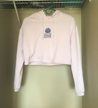 Bluenotes lilac cropped hoodie Calgary