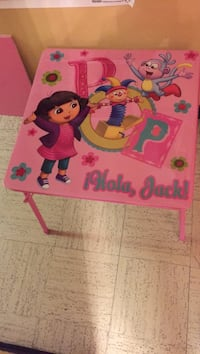 Toddler's pink dora themed table Lawrence, 01840