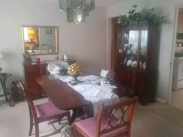 Used Ducan Fitch Set Table 6 Chairs China And Hutch For Sale In Cincinnati