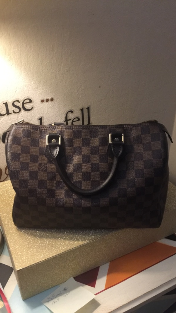 2a07d64cd7f2 Damier ebene louis vuitton leather tote bag. HomeFashion and Accessories Redwood  City