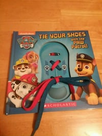 Tie your shoes with the Paw Patrol 339 mi