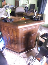 brown wooden dresser with mirror Beeton, L0G 1A0