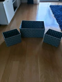 Blue Storage Baskets Deerfield Beach