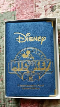 Mickey 60 years with you silver coin .999  Concord, 94520