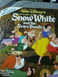 Walt Disney's story and songs from snow white and  Tinley Park, 60477