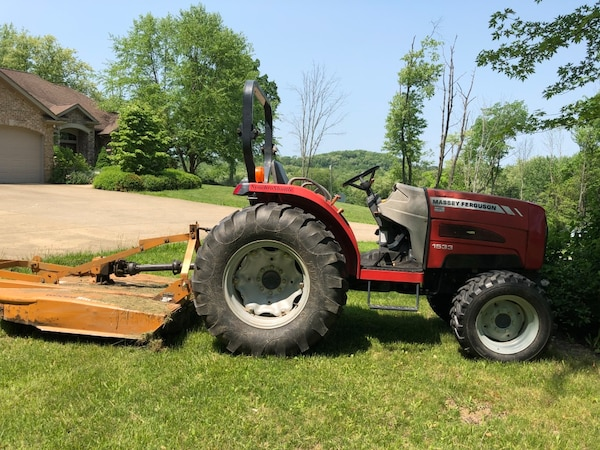 1533 Massey Ferguson, Woods Finishing Mower, Woods Brush Hog