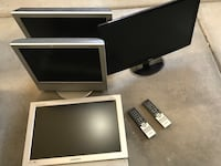 Lcd tv screens w/mount brackets Orem, 84057