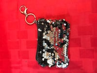 Sequin change purse keychain Jackson Township, 08527