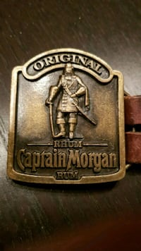 Buksebelte. Captain Morgan. Belt Nøtterøy, 3132