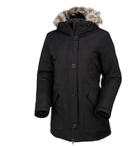 North face Black  fur-lined button-up parka Montréal, H3G 1P8