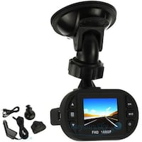 New Two 1080p Full HD Security Dash Cam Car Vehicle with Mount Lanham