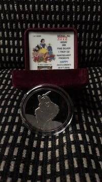 1 oz. Silver Proof Medal 'HAPPY' from the 50th Anniversary Snow White set 2278 mi
