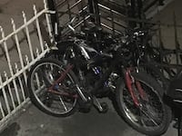 black and red full-suspension mountain bike New York, 11213