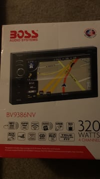 Boss audio in dash touch screen gps and Bluetooth radio Baltimore, 21236