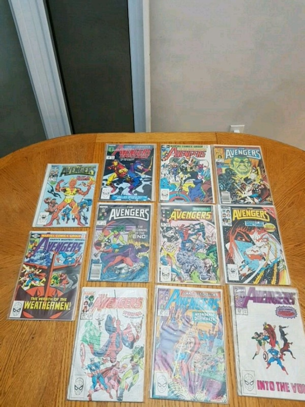 Assorted comics 44834055-b219-499f-9769-e0b89ccf7d14