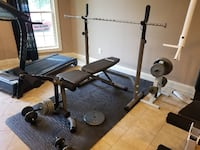 Weight Bench and Weights Mooresville