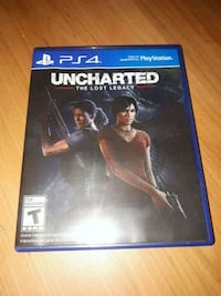 PS4 uncharted  game case Kitchener, N2M 4N2