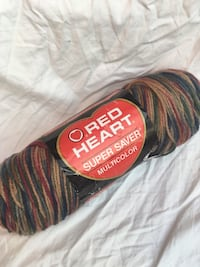 Red Heart Super Saver Painted Desert Yarn - 6 oz. Brand New Chicago, 60622