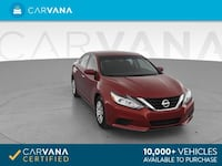 2016 *Nissan* *Altima* 2.5 S Sedan 4D sedan Red Brentwood