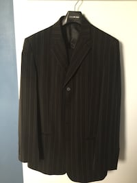 black and gray striped suit jacket Calgary, T3J