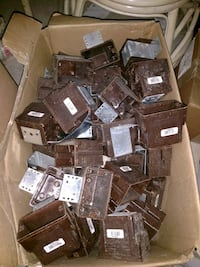 Electrical outlet boxes 2.50 each Jacksonville, 32244